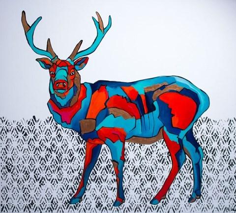 Obraz do salonu artysty Monika Mrowiec pod tytułem Kierunek na wschód