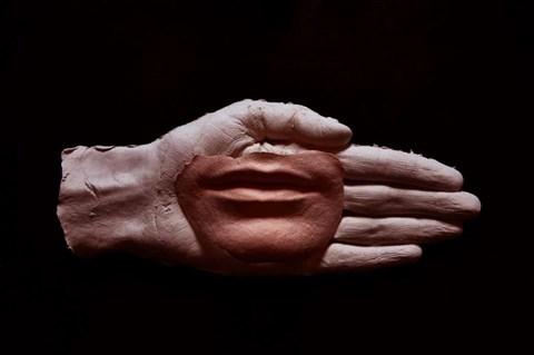 Obraz do salonu artysty Aleksandra Koper pod tytułem Obraz rzeźbiarki 2