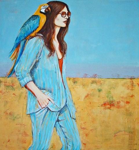 Obraz do salonu artysty Renata Magda pod tytułem Small Friendship