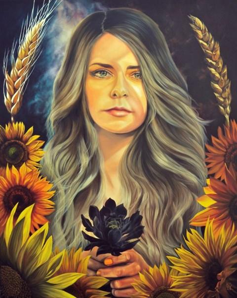 Obraz do salonu artysty Katarzyna Skośkiewicz pod tytułem Gaia