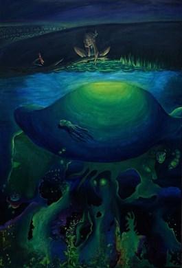 Obraz do salonu artysty Barbara Kozaczkiewicz pod tytułem Szyszka