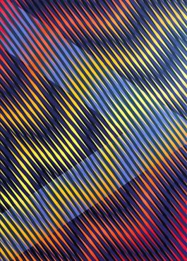 Obraz do salonu artysty Michał Mąka pod tytułem Emotion trip I