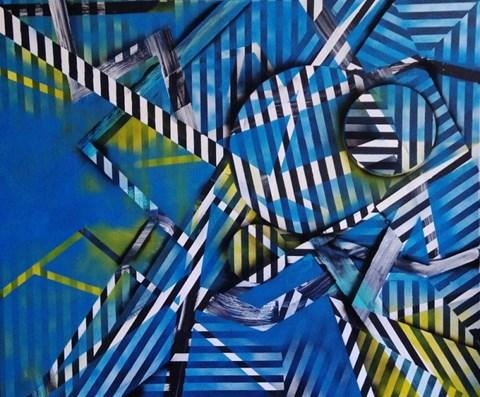 Obraz do salonu artysty Magdalena Karwowska pod tytułem Miasto 07