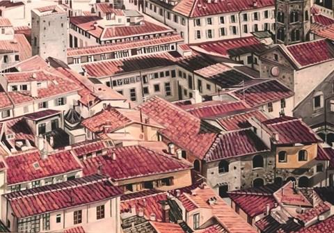 Obraz do salonu artysty Joanna Jeżewska-Desperak pod tytułem Zapiski z podróży - Bolonia