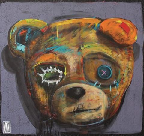 Obraz do salonu artysty Wojciech Brewka pod tytułem Open Your Eyes