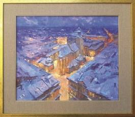 Obraz do salonu artysty Anatol Martyniuk pod tytułem Lwów