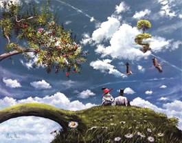 Obraz do salonu artysty Martyna Mączka pod tytułem Nasze lato
