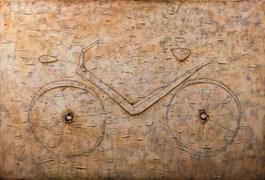 Obraz do salonu artysty Grzegorz Klimek pod tytułem Pędzący rower 6