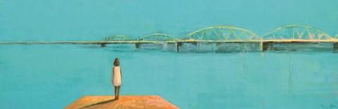 Obraz do salonu artysty Ilona Herc pod tytułem Poza czasem