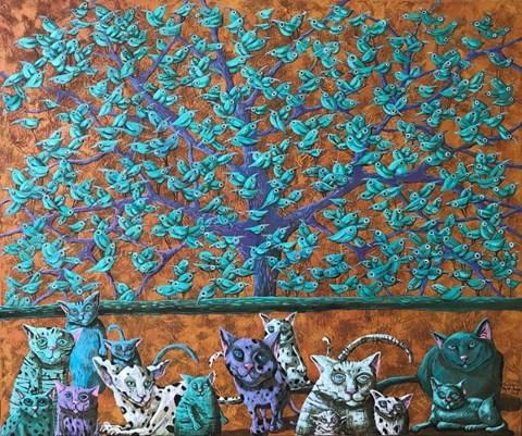 Obraz do salonu artysty Magdalena Rytel-Skorek pod tytułem Pokusa