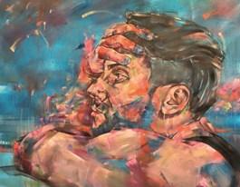 Obraz do salonu artysty Bastien Ducourtioux pod tytułem Blue Modod