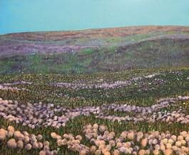 Obraz do salonu artysty Jacek Malinowski pod tytułem Dmuchawce III