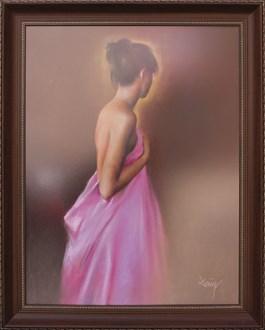 Obraz do salonu artysty Domingo Alvarez Gomez pod tytułem Kobieta