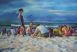 Obraz do salonu artysty Barbara Gulbinowicz pod tytułem Panny