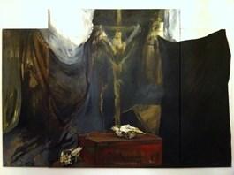 Obraz do salonu artysty Magdalena Siejko pod tytułem Rozstanie
