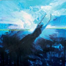 Obraz do salonu artysty Artur Wąsowski pod tytułem Wypłyń (cykl Przejścia)