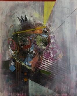Obraz do salonu artysty Mateusz Rybka pod tytułem Portret mężczyzny IX. Oficer