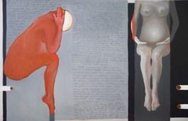 Obraz do salonu artysty Oksana Bagriy pod tytułem Modlitwa