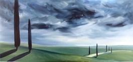 Obraz do salonu artysty Jacek Malinowski pod tytułem Toskania LIII