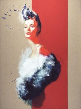 Obraz do salonu artysty Szymon Kaczmarek pod tytułem Disguise