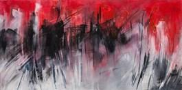 Obraz do salonu artysty Iza Kostiukow pod tytułem Lipiec w Strzeszynku