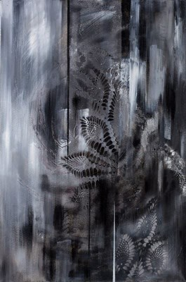 Obraz do salonu artysty Iza Kostiukow pod tytułem Silver (3)