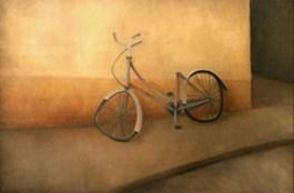 Obraz do salonu artysty Wioletta Winiarczyk pod tytułem Rower