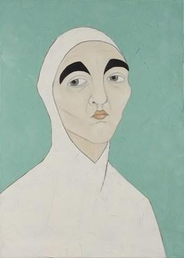 Obraz do salonu artysty Paulina Korbaczyńska pod tytułem Szwagierka konkubenta matki, ofiary, zawodowa panczenistka