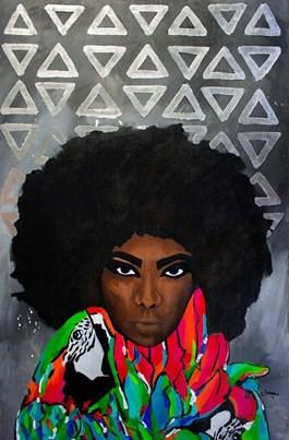 Obraz do salonu artysty Monika Mrowiec pod tytułem Lady Merci