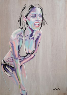 Obraz do salonu artysty Katarzyna Śmigielska pod tytułem Inkarnacja 7