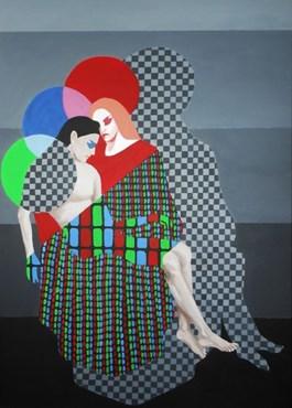 Obraz do salonu artysty Agnieszka Giera pod tytułem 1988 Leszno - Pieta