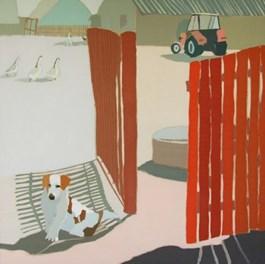 Obraz do salonu artysty Magdalena  Jędrzejczyk pod tytułem Parówka z Wojsz