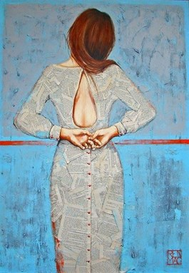 Obraz do salonu artysty Renata Magda pod tytułem Blue Monday…