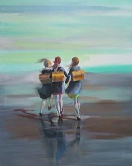 Obraz do salonu artysty Marta Szarek-Michalak pod tytułem School Friendship