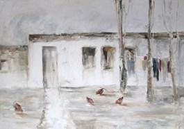Obraz do salonu artysty Misia Łukasiewicz pod tytułem Wieści z Ukrainy