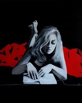 Obraz do salonu artysty Monika Dałek pod tytułem Rilke and me