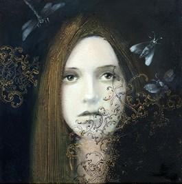 Obraz do salonu artysty Alicja Kappa pod tytułem Szept ciszy