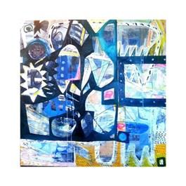 Obraz do salonu artysty Anna Jarzymowska pod tytułem Dżungla
