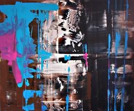 Obraz do salonu artysty Dominik Smolik pod tytułem Glassando I
