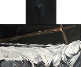 Obraz do salonu artysty Magdalena Siejko pod tytułem Bez tytułu