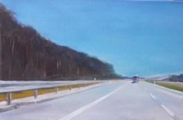 Obraz do salonu artysty Rajmund Gałecki pod tytułem Na trasie