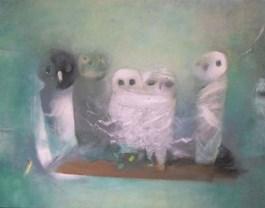 Obraz do salonu artysty Witold Abako pod tytułem Wszyscy jesteśmy samotni nr 4