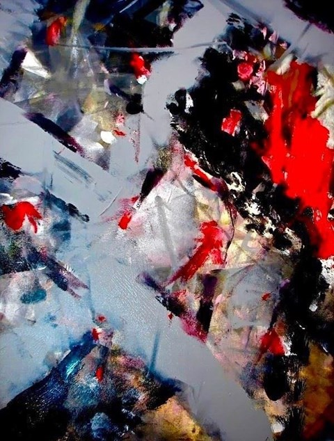 Obraz do salonu artysty Alicja Domańska pod tytułem Pictura Insomnia