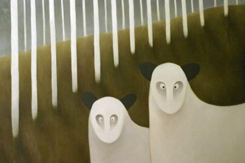 Obraz do salonu artysty Wioletta Winiarczyk pod tytułem A kuku