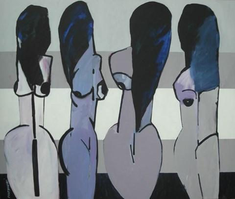 Obraz do salonu artysty Grzegorz L. Piotrowski pod tytułem Panny