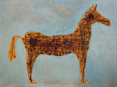 Obraz do salonu artysty Grzegorz Klimek pod tytułem Bez tytułu