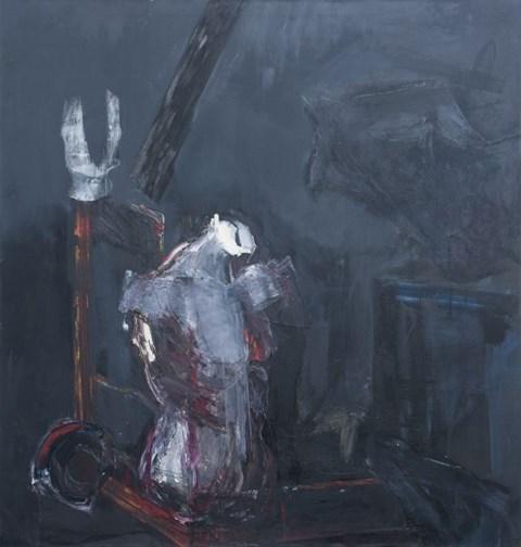 Obraz do salonu artysty Magdalena Siejko pod tytułem Martwa natura bez twarzy