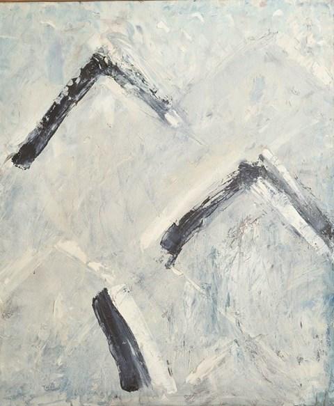 Obraz do salonu artysty Joanna Plakiewicz pod tytułem Zima