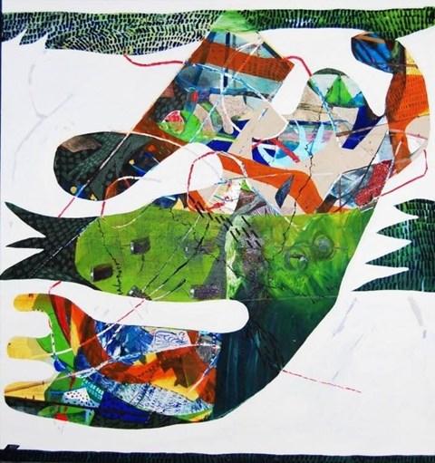 Obraz do salonu artysty Anna Jarzymowska pod tytułem Teleportacja
