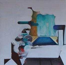 Obraz do salonu artysty Rafał Knop pod tytułem The City III